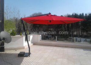 سایبان چتری پایه کنار فلزی (1)