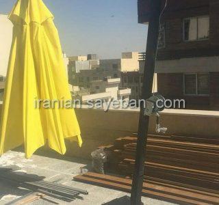 پروژه چتر پایه کنار آقای هاشمی پاسداران