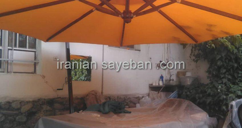 پروژه چتر پایه کنار آقای اسدی فیروز بهرام